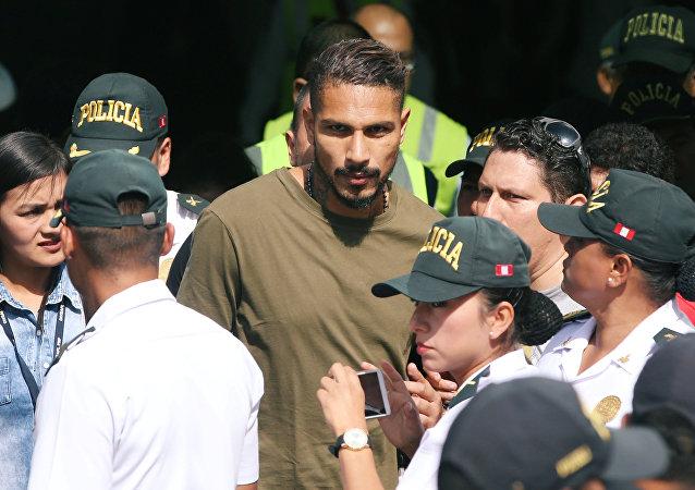 Paolo Guerrero, futbolista peruano