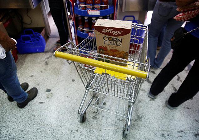 Alimentos de la empresa Kellogg's en Venezuela