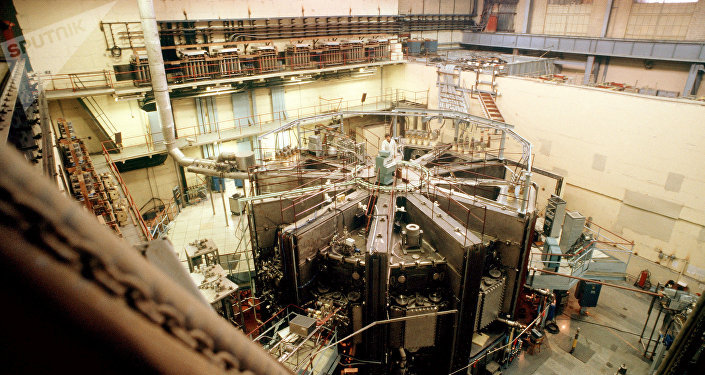 Un tokamak termonuclear en el Instituto Kurchátov