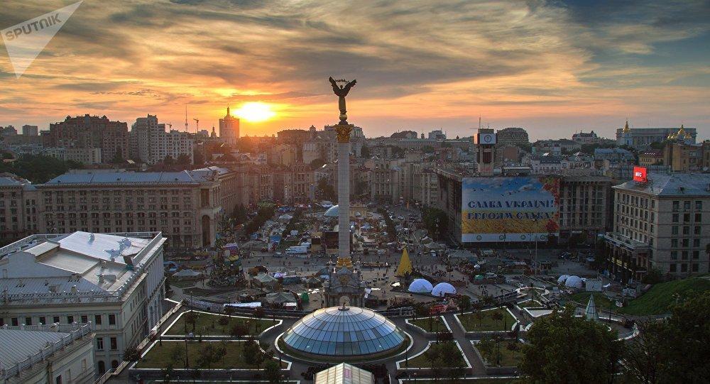 Plaza de la Independencia en Kiev (archivo)