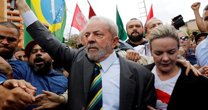 Luiz Inácio Lula da Silva, expresidente de Brasil