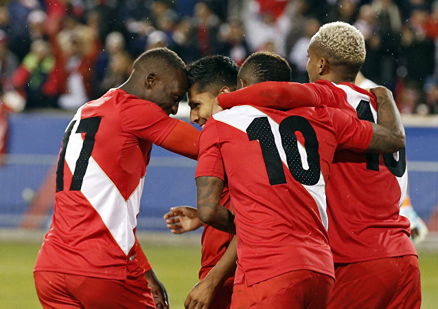 La selección de fútbol de Perú