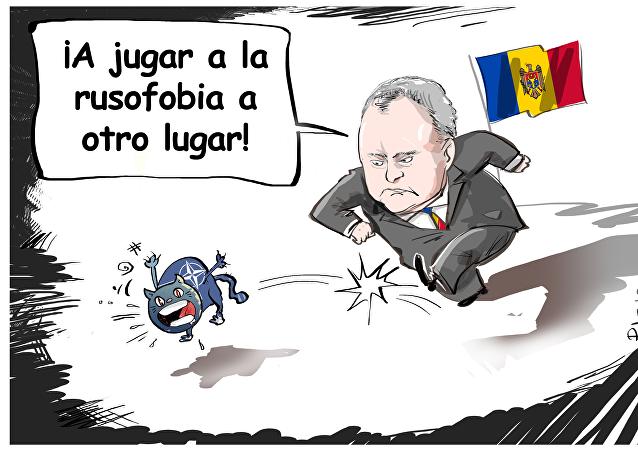 Igor Dodon, presidente de Moldavia, afirmó que es muy probable que la oficina de la OTAN en Chisinau se cierre