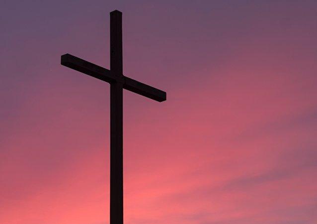 Una cruz (imagen referencial)