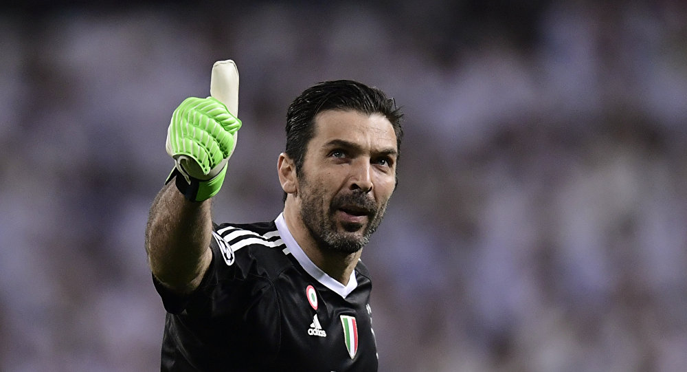 Gianluigi Buffon, portero italiano