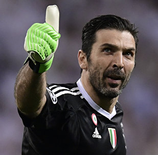 Gianluigi Buffon, portero italiano