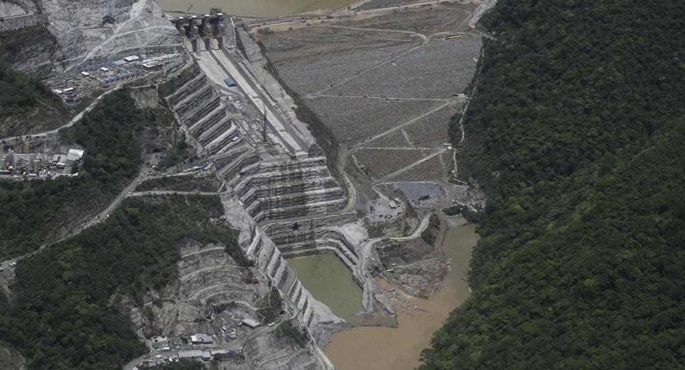 Represa colombiana Hidroituango
