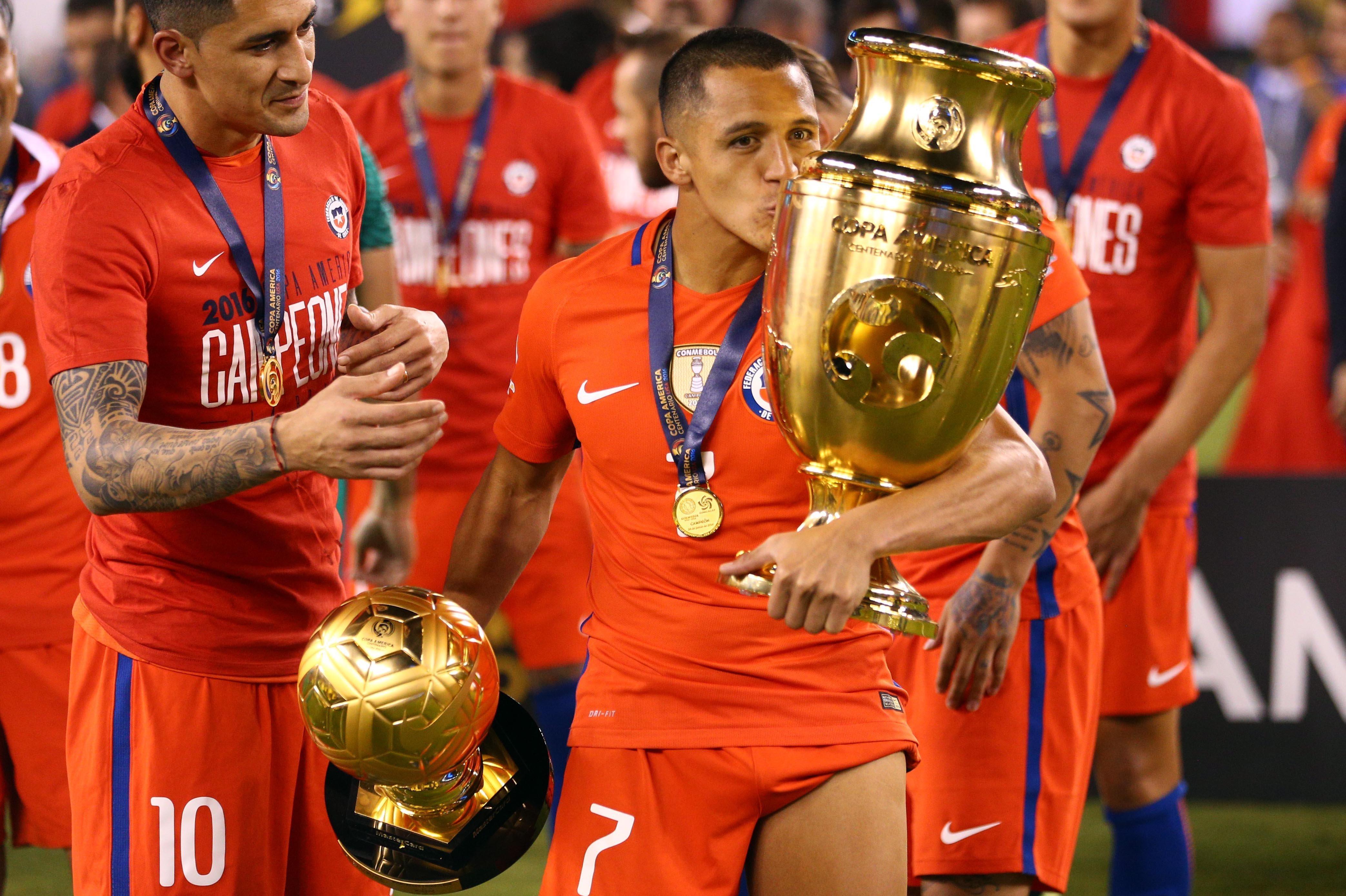 Alexis Sánchez, 'Balón de Oro' de la Copa América