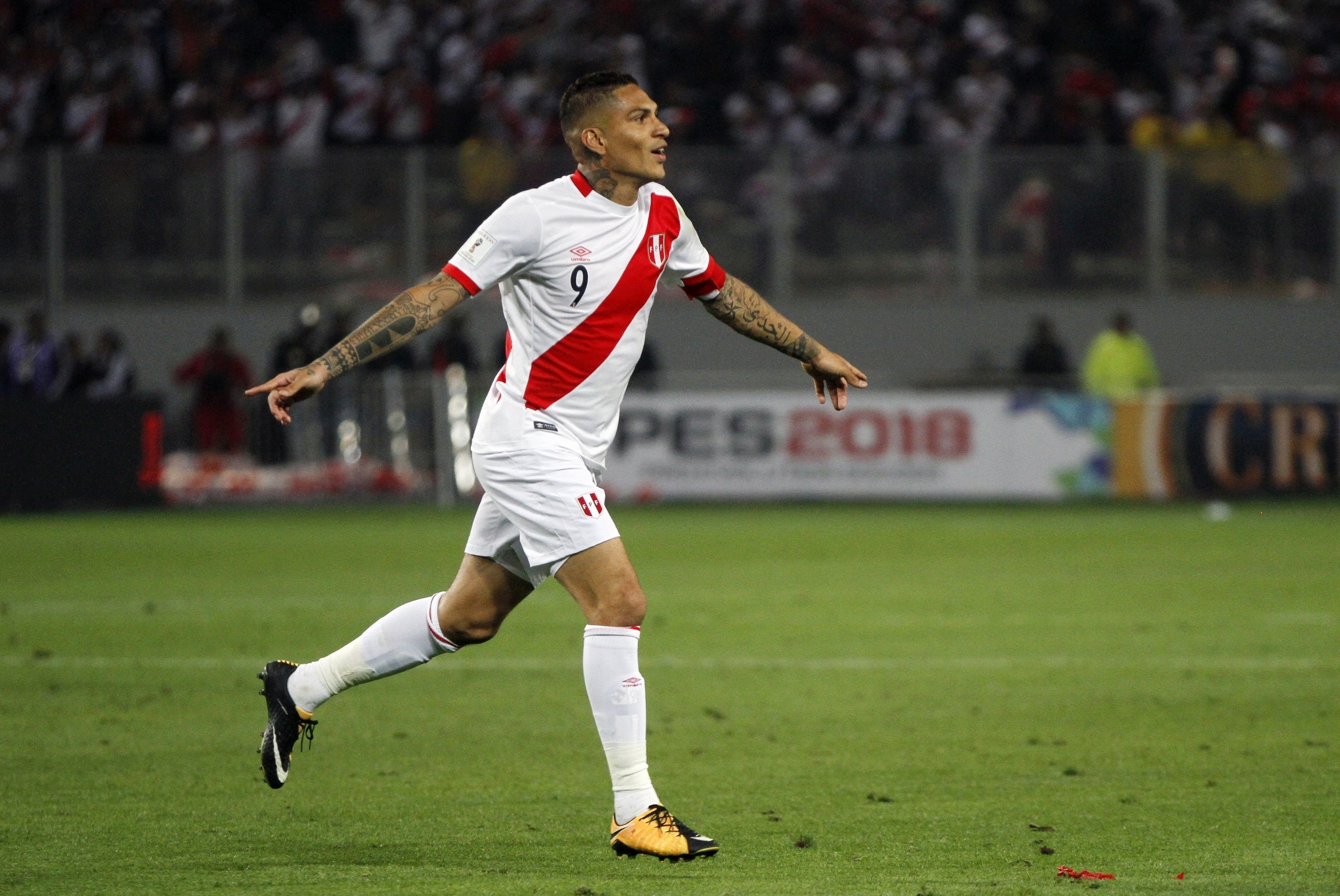 Paolo Guerrero, futbolista peruano (archivo)