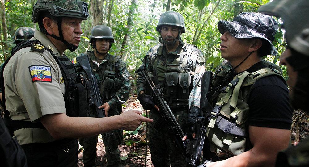 Reportan desaparición de un militar ecuatoriano en frontera con Colombia