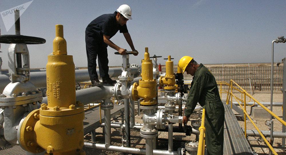Una refinería de petróleo en Irán