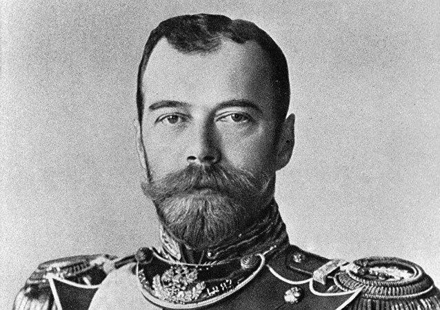 El zar ruso Nicolás II