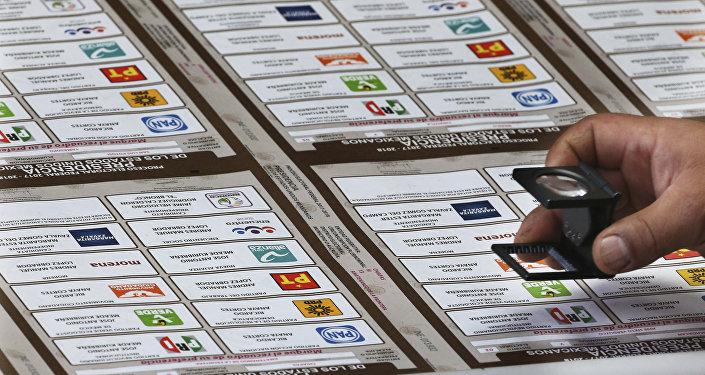 Boletas electorales en México