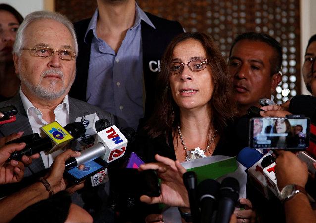 Antonia Urrejola, relatora de la Comisión Interamericana de Derechos Humanos (CIDH) para Nicaragua