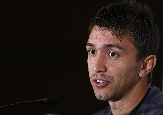Fernando Muslera, arquero de la selección de fútbol de Uruguay
