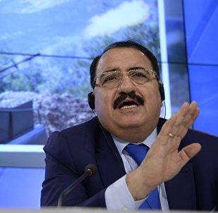 Riad Haddad, embajador de Siria en Moscú