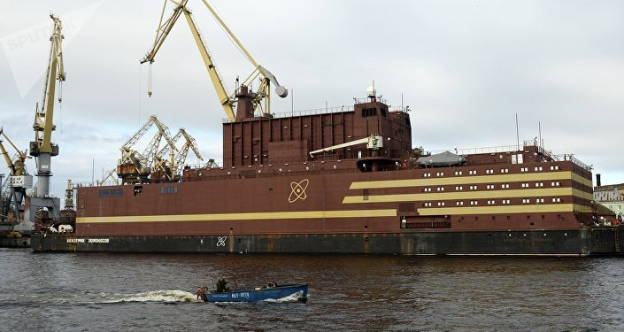 La central nuclear Akademik Lomonosov