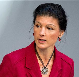 La política alemana Sahra Wagenknecht