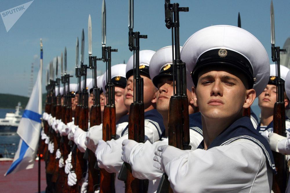 287 años de la Flota del Pacífico, defensora de las fronteras orientales de Rusia