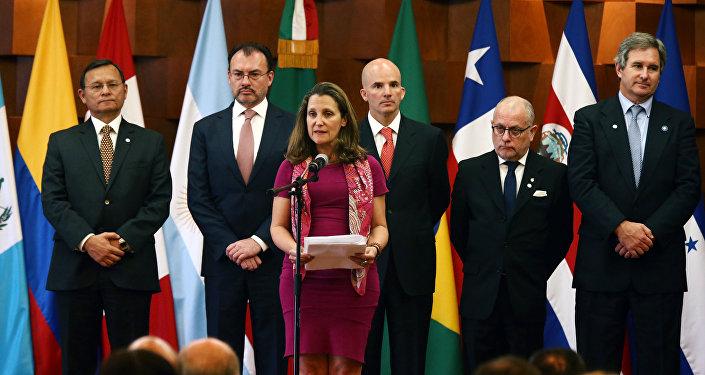 El encuentro de los ministros de Exteriores de Grupo de Lima