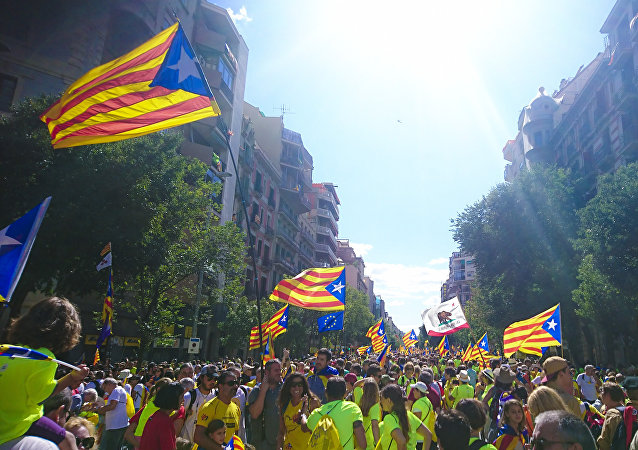 'Estelada', bandera independentista de Cataluña (imagen referencial)
