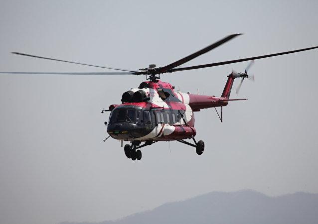 Mi-171A2 durante vuelos de prueba en Ulán Udé