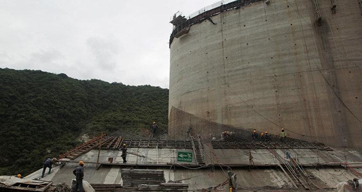 La represa Hidroituango
