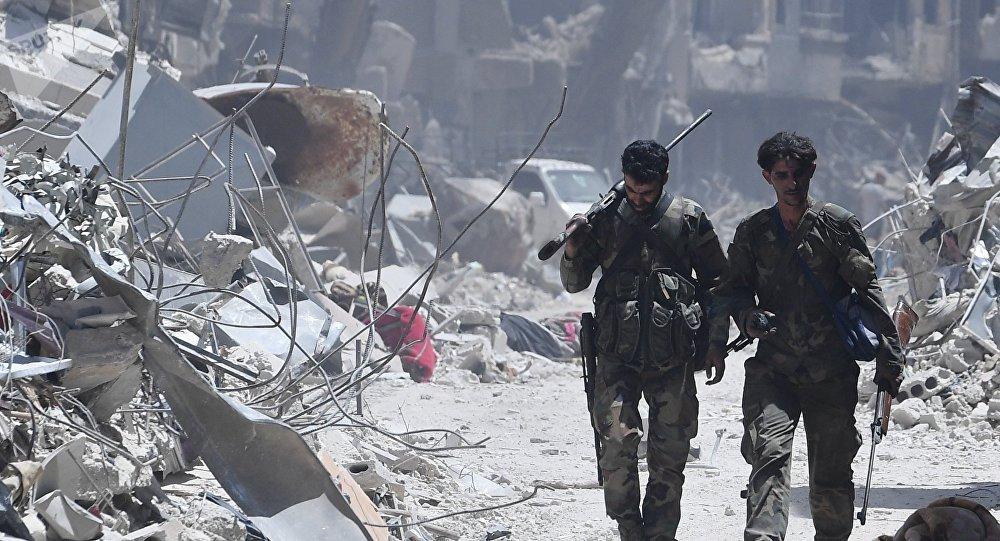 El Ejército sirio liberó de los terroristas el campo de refugiados palestinos Yarmuk situado en el sur de Damasco