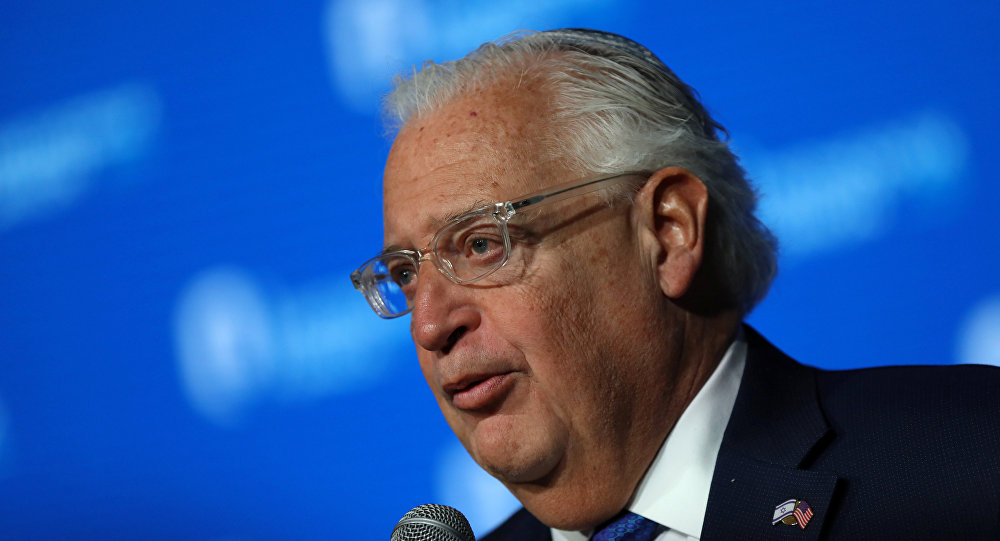 David Friedman, embajador de EEUU en Israel