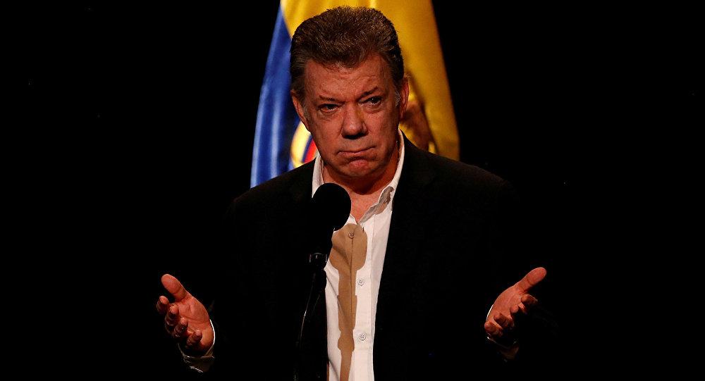 Juan Manuel Santos, presidente de Colombia
