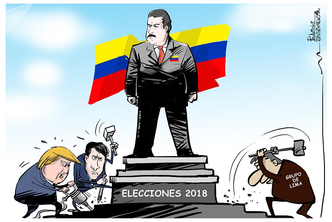 Maduro se sube al podio (aunque le pese a EEUU)