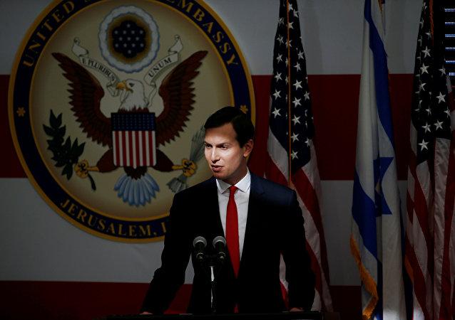 Jared Kushner, yerno de Donald Trump, presidente de EEUU
