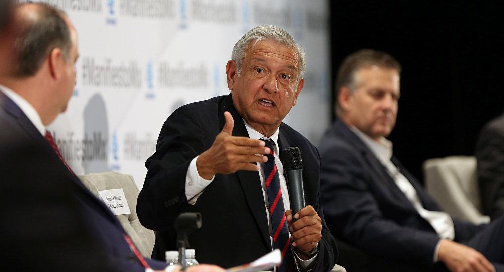 Andrés Manuel López Obrador, candidato a la presidencia de México