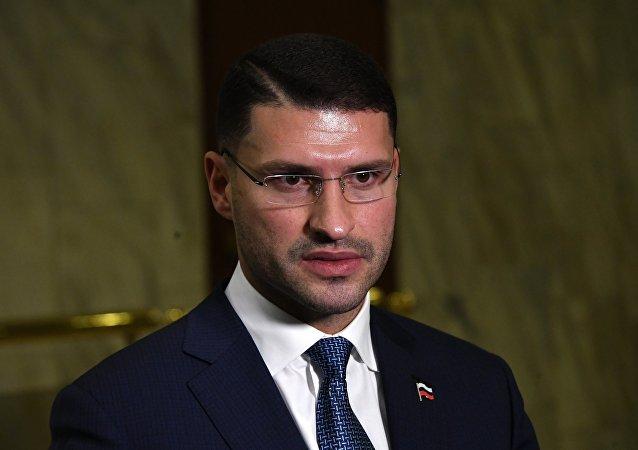 El jefe del grupo de contacto ruso para Libia, Lev Dengov, archivo