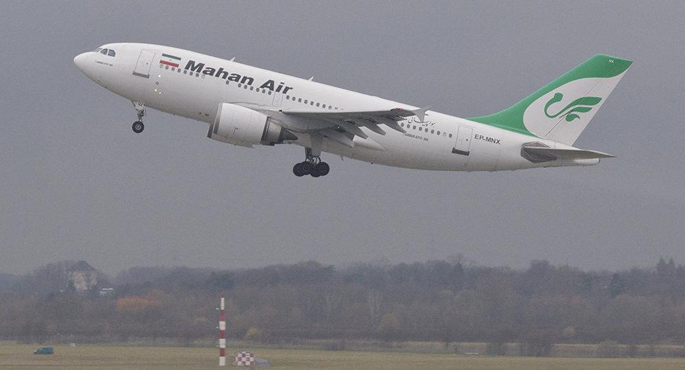 Un avión de Mahan Air