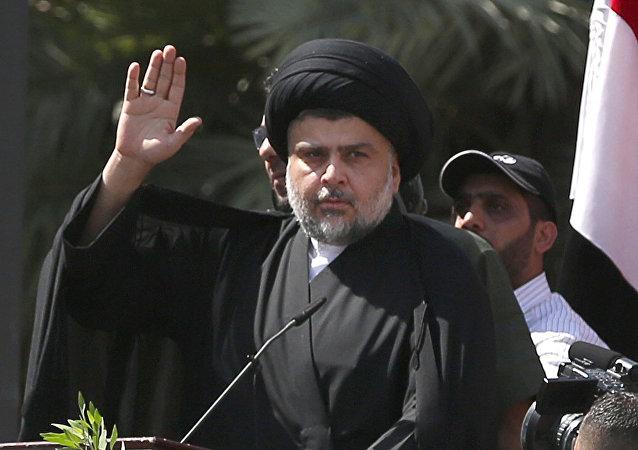 Muqtada Sadr, clérigo y político iraquí (archivo)