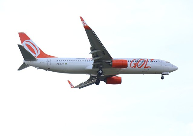 Un avión brasileño, imagen referencial
