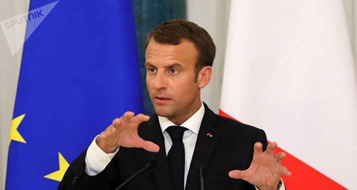 Emmanuel Macron, el presidente de Francia
