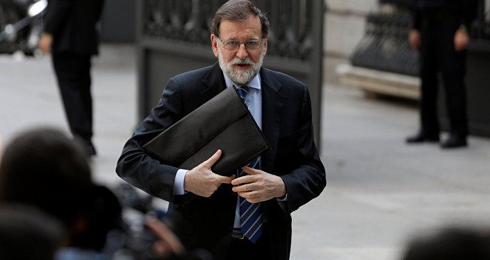 Mariano Rajoy, expresidente del Gobierno español