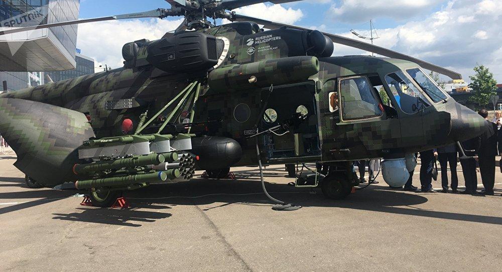 El helicóptero Mi-171Sh (archivo)