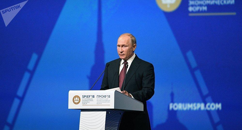 Critica Putin salida de Estados Unidos de pacto nuclear con Irán