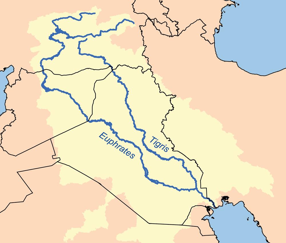 Las cuencas del Tigris y del Éufrates