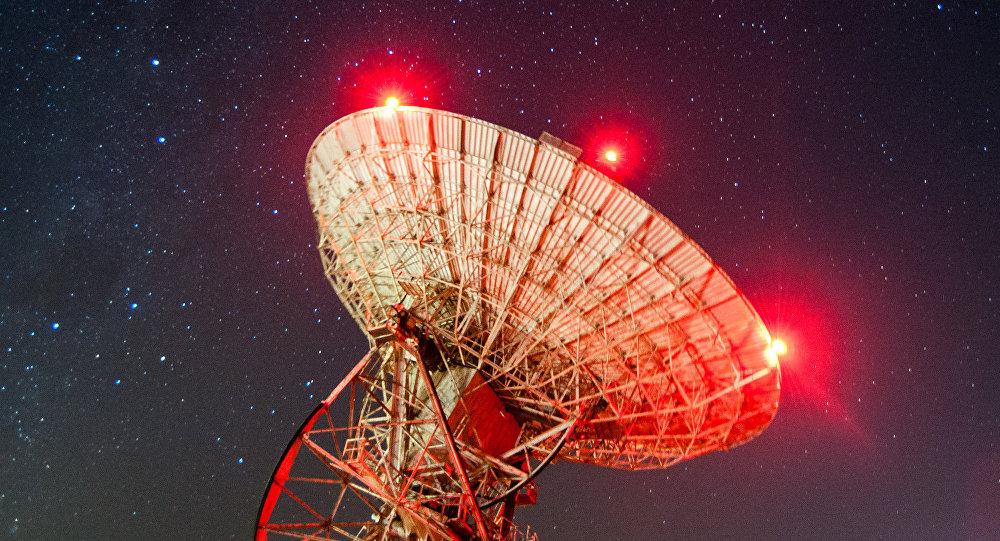 Un radiotelescopio