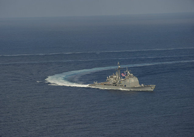 Crucero de misiles teledirigidos USS Antietam