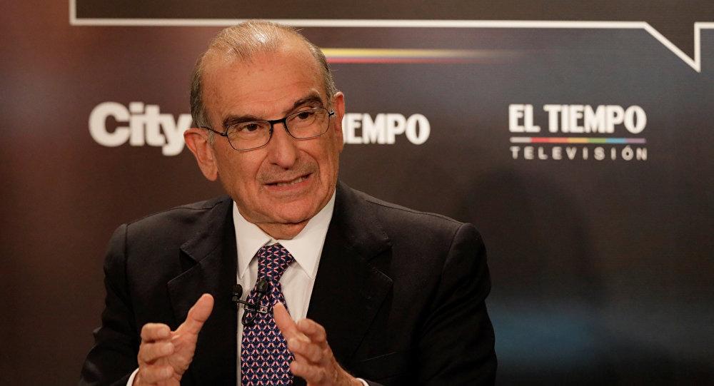 Humberto de la Calle, candidato presidencial colombiano
