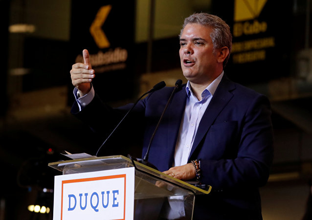 Iván Duque, candidato a la presidencia de Colombia