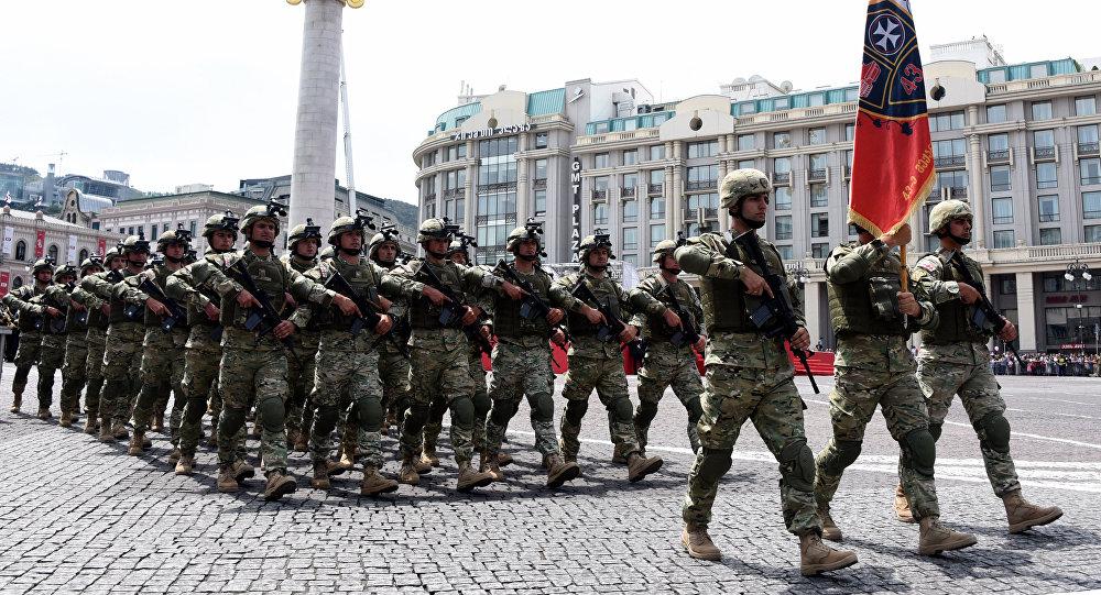 Militares georgianos