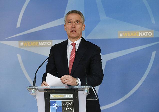 El Secretario General de la OTAN Jens Stoltenberg