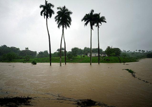 Consecuencias de la tormenta subtropical Alberto en Cuba