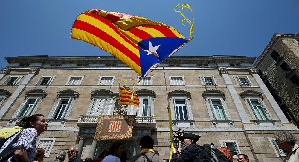 'Estelada', bandera independentista de Cataluña
